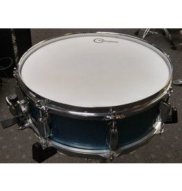 Used Tama Silverstar 5x14 Snare Drum-Blue Sparkle