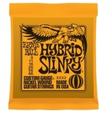 009-.046 Custom Gauge Electric Guitar Strings, Nickel Wound, Hybrid Slinky