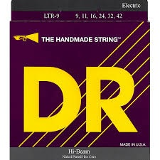 DR Hi-Beams Nickel Plated Electric Guitar Strings - Light