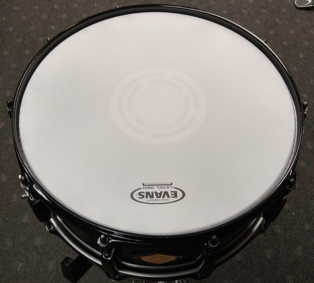 "Used Battlefield 6x14"" Snare Drum-Black"