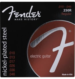Fender .010-.046 Regular Electric Guitar Strings, Nickel Plated Steel