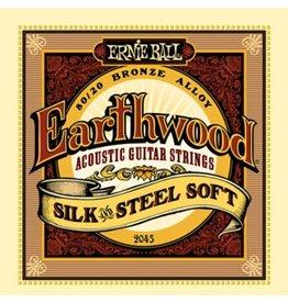 Ernie Ball 2045 Silk and Steel Acoustic Guitar Strings - Light