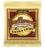 Ernie Ball 2006 80/20 Bronze Alloy Acoustic Guitar Strings - Extra Light
