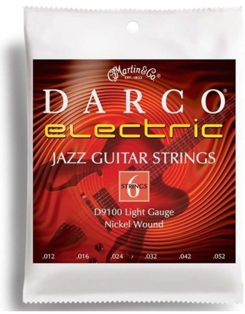 Martin Darco D9100 Nickel Wound Electric Guitar Strings - Light