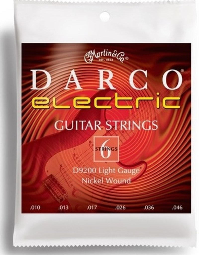 .010-.046 Light Electric Guitar Strings, Nickel Wound