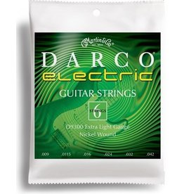 .009-.042 Extra Light Electric Guitar Strings, Nickel Wound