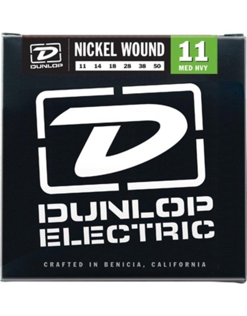 Dunlop Nickel Wound Gauge Electric Guitar Strings - Medium Heavy