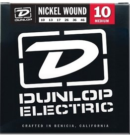 Dunlop DEN1046 Nickel Wound Electric Guitar Strings - Medium