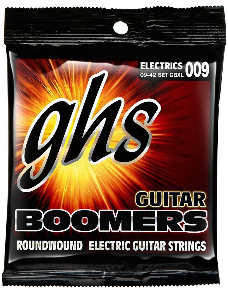 GHS GBXL Boomers Nickel Plated Electric Guitar Strings - Extra Light