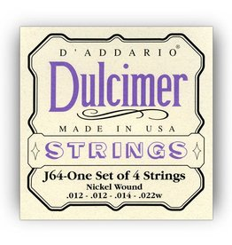 .012-.022w Gauge Dulcimer Strings, Nickel Wound