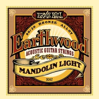 .009-.034 Light Gauge Mandolin Strings, 80/20 Bronze