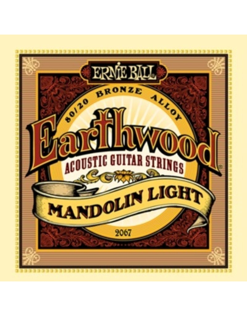 .009-.034 Light Gauge Mandolin Strings, 80/20 Bronze