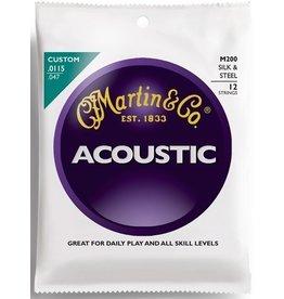 Martin .0115-.047 12-String Acoustic Guitar Strings, Silk & Steel