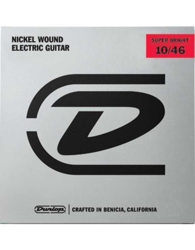 Dunlop Nickel Wound Super Bright Electric Guitar Strings - Light