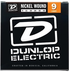 Dunlop Nickel Wound Electric Guitar Strings - Light