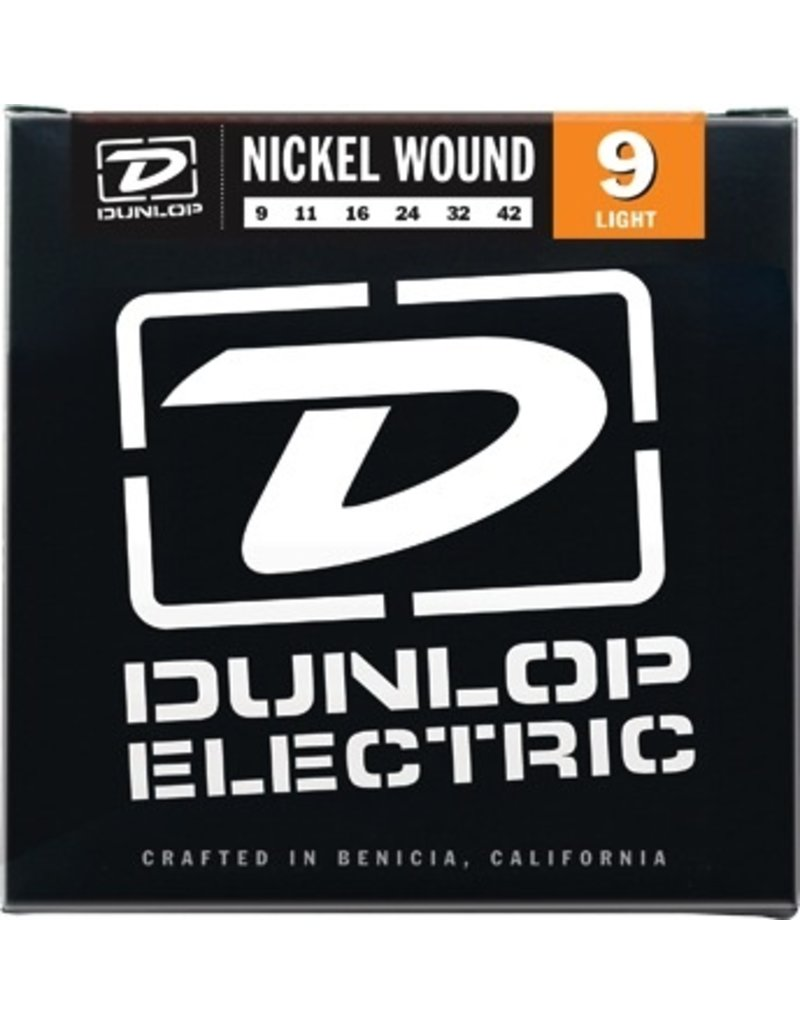 Dunlop Nickel Wound Electric Guitar Strings - Light