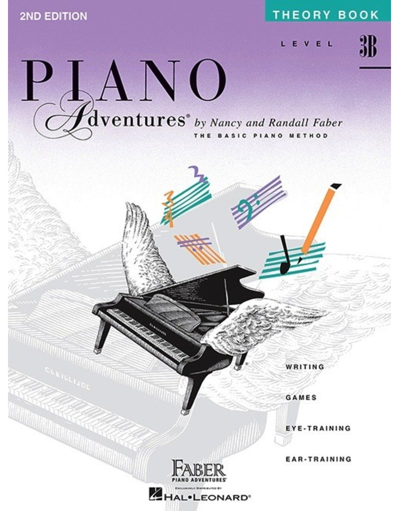 Faber Piano Adventures Level 3B - Theory Book
