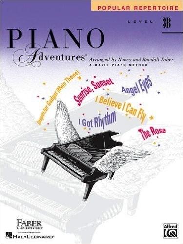 Faber Piano Adventures Level 3B - Popular Repertoire Book