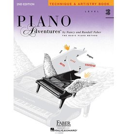 Faber Piano Adventures Level 3B - Technique & Artistry Book