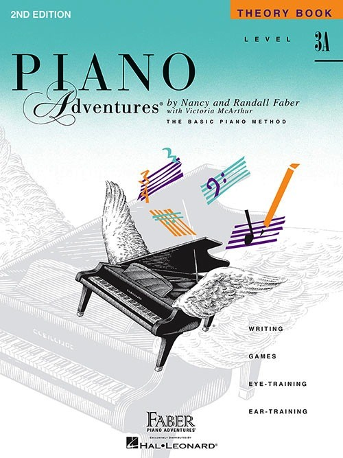 Faber Piano Adventures Level 3A - Theory Book