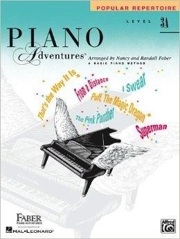 Faber Piano Adventures Level 3A - Popular Repertoire Book