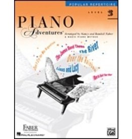 Faber Piano Adventures Level 2B - Popular Repertoire Book