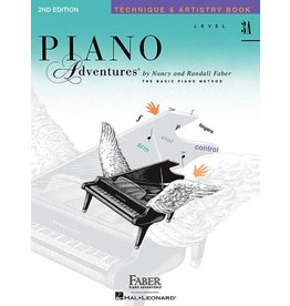 Faber Piano Adventures Level 3A - Technique & Artistry Book