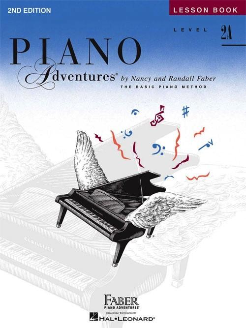 Piano Adventures Series FaberPiano Level: 2A Lesson Book