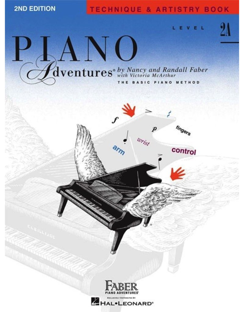 Piano Adventures Level 2A - Technique & Artistry Book - 2nd Edition