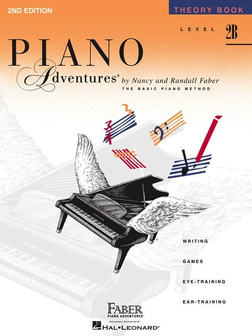 Faber Piano Adventures Level 2B - Theory Book - 2nd Edition