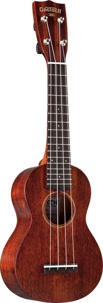 Gretsch G9100 Soprano Standard Ukulele w/Gig Bag, Rosewood Fingerboard, Vintage Mahogany Stain