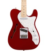Fender Deluxe Tele Thinline Electric Guitar-Candy Apple Red