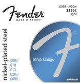 Fender 2255L Nickel Plated Steel Banjo Strings - Light