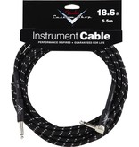 Fender Custom Shop Performance Series 18.6' Angled Cable - Black Tweed