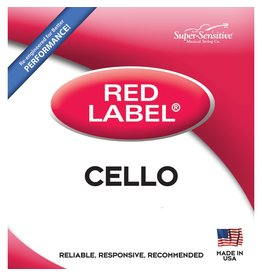 Red Label Cello A 4/4 Size Medium Gauge String