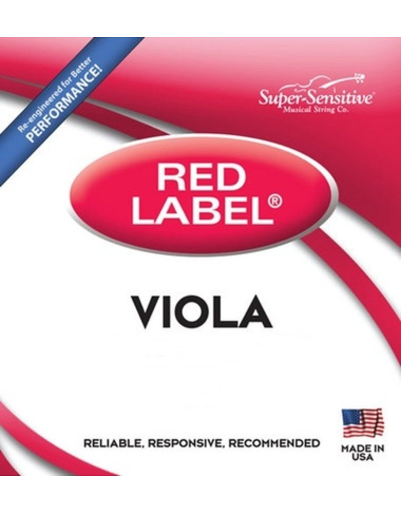"Red Label Viola C Junior (13"") Medium Gauge String"