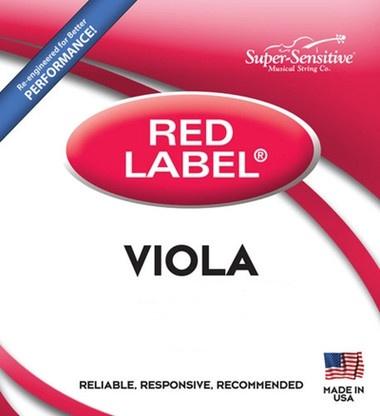 """Red Label Viola C Junior (13"""") Medium Gauge String"""