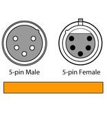 Chauvet 5-Pin 10' DMX Cable