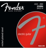 Fender 250B6 Nickel Plated Bass VI Strings