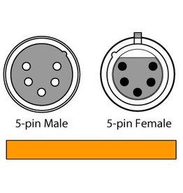 Chauvet 5-Pin 5' DMX Cable