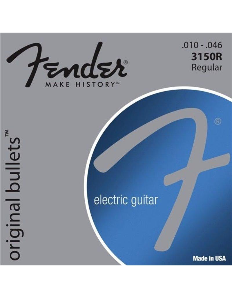 Fender 3150R Original Bullet Pure Nickel Electric Guitar Strings - Regular