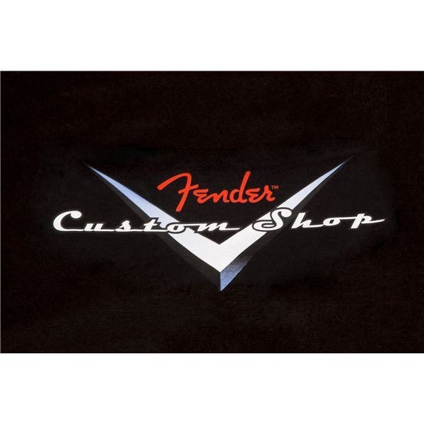 Fender Fender® Custom Shop Original Logo T-Shirt, Black, L