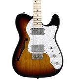 Fender Classic Series '72 Telecaster® Thinline, Maple Fingerboard, 3-Color Sunburst