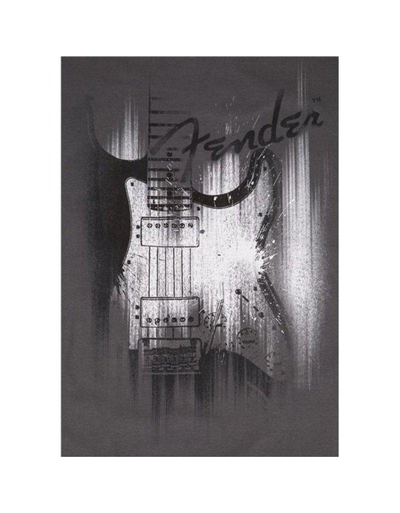 Fender Fender® Airbrushed Strat T-Shirt, Gray, XXL