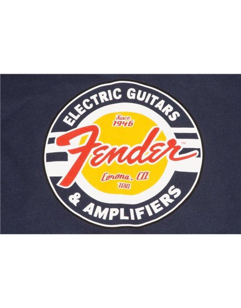 Fender Fender® Guitars and Amps Logo T-Shirt, Navy, S