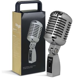 Pro SDM100 CR Vintage Style Dynamic Microphone