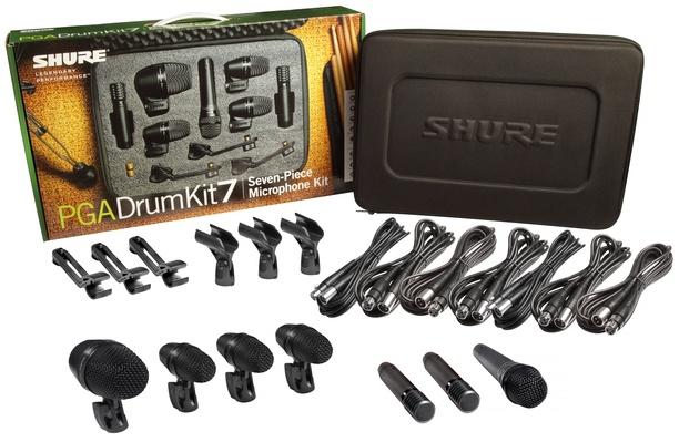 Shure PGA Drum Kit 7 Piece Microphone Kit