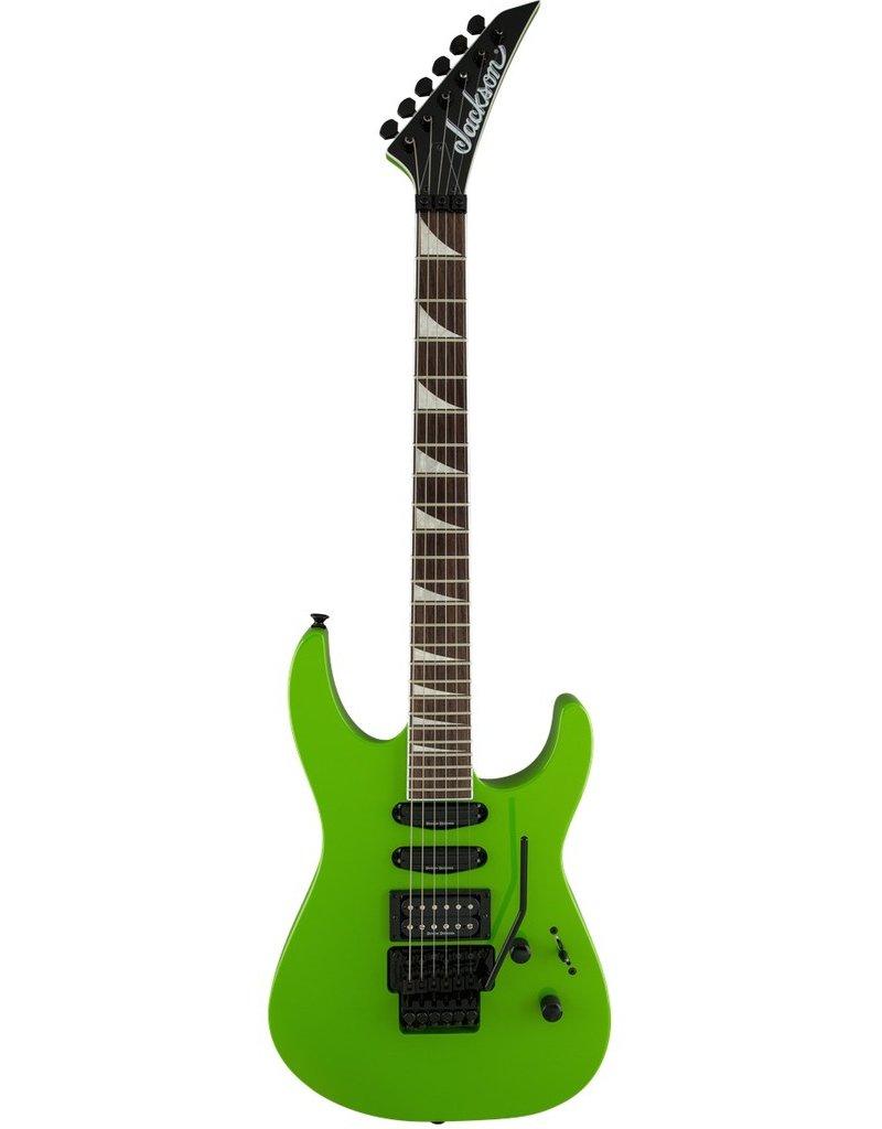 Jackson SL3X Soloist Guitar - Slime Green
