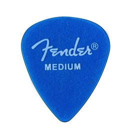 Fender California Clear™ Picks, 12 Pack, Medium, Lake Placid Blue