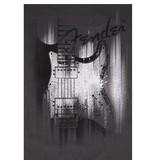 Fender Fender® Airbrushed Strat T-Shirt, Gray, M